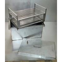 Коптильня с гидрозатвором из нержавеющей стали (больш.)