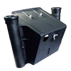 Подставка под эхолот с АКБ с 2 удочкодержателями
